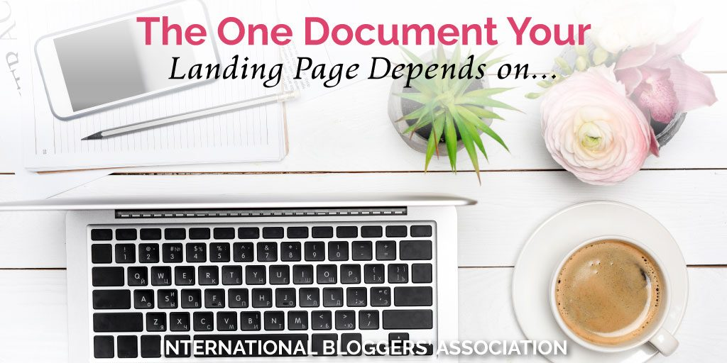 What if there were a document that could practically guarantee your landing page to be a success? Well, it's called a creative brief... #bloggingtips #landingpage