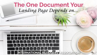 The One Document Your Landing Page Depends on…