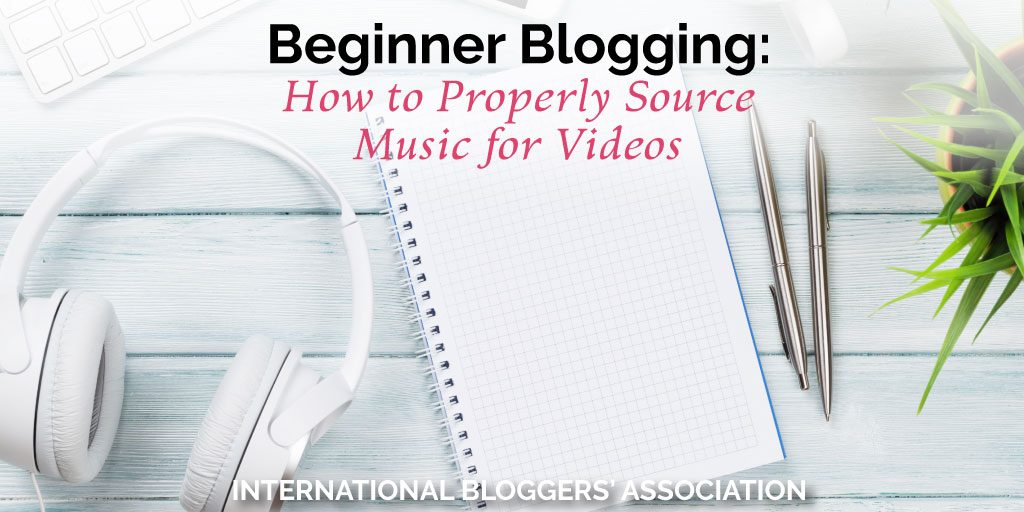 Do you know how to properly source music for videos you create? At @IBAbloggers, we teach you how to legally find the best music for your videos!