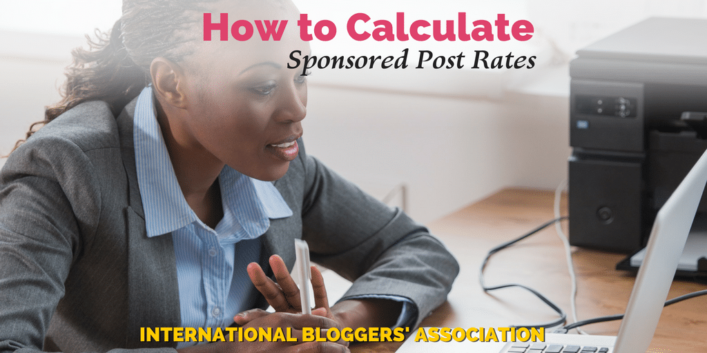 How to Calculate Sponsored Post Rates