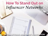 Are you looking to monetize your blog with Influencer Networks? These five tips will have you standing out from the crowd with your next influencer pitch! #influencermarketing #influencernetworks #bloggingtips #betterblogging #socialmedia #influencer