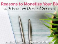 Do you think affiliate marketing or ads are the only way to monetize your blog? Have you ever thought about usingprint on demand servicesto make an extra income with your site? Today, I am going to tell you five reasons why print on demand services might be the perfect solution for you! #bloggingtips #monetizeyourblog