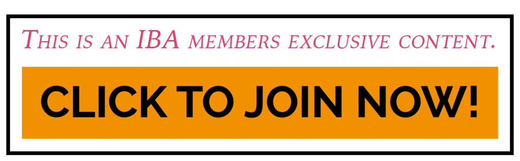 International Bloggers' Association Members Only Content Join