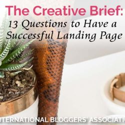 The Creative Brief: 13 Questions to a Have Successful Landing Page