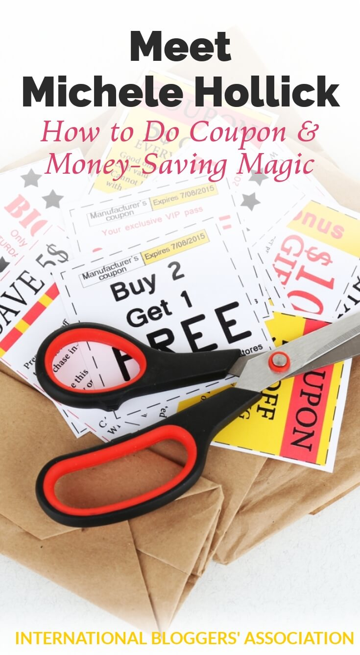 Looking to save some serious cash? Meet IBA member Michele Hollick aka The Coupon Wizard. Who knew saving money (and having this much fun) was magic? #couponing #frugaltips
