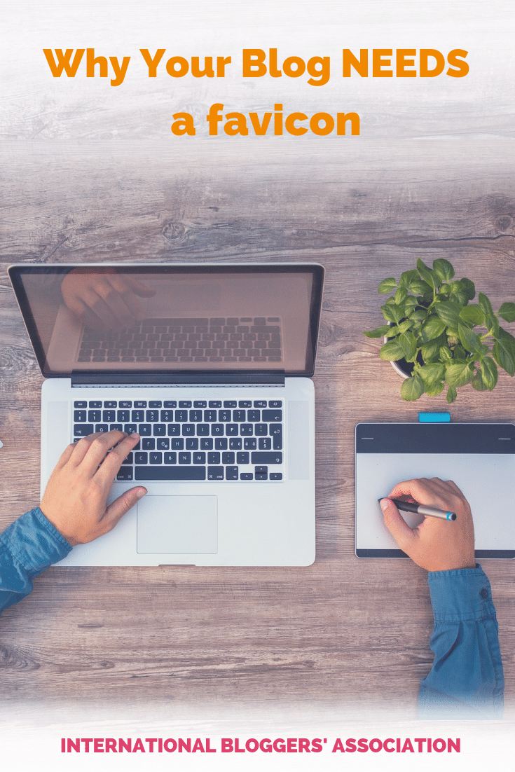 Favicons should be a part of your blog's branding strategy. IBA Board Member Orana shows you how to create and install one. #bloggingtips #brandingstrategies #blogmarketing #ibabloggers
