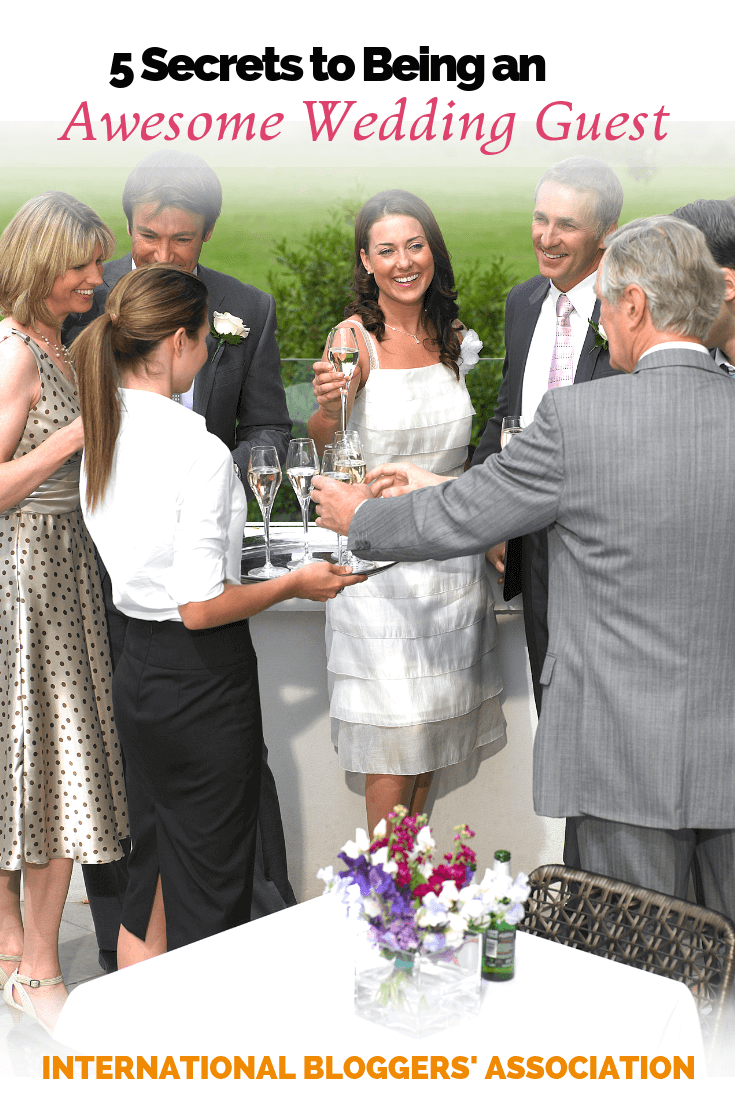 Tips for being an amazing wedding guest and making the day a little more special for the happy couple. #weddingetiquette #weddings #weddingguest #ibabloggers